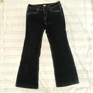 WHBM Blanc Jeans Black Size 4S